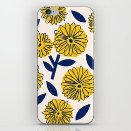 Floral_blossom iPhone Skin