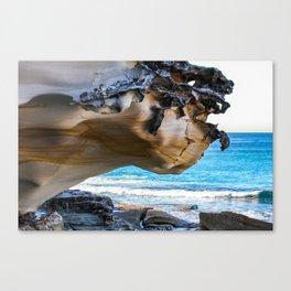 Overhang. Bronte Beach. Sydney. Australia. Canvas Print