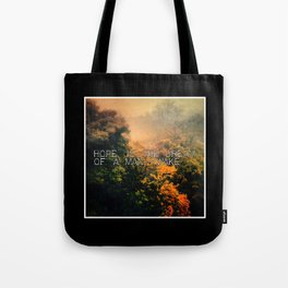 Hope in the Mist Tote Bag