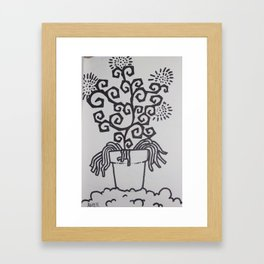 High OG Kush Framed Art Print