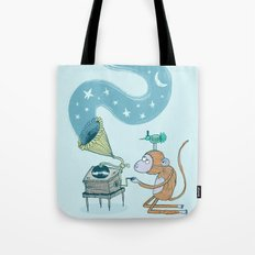'Night Sounds' Tote Bag