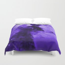 Eagle Nebula Ultraviolet Duvet Cover