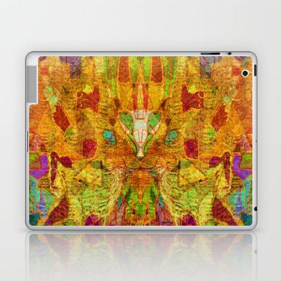 Hiding Face Laptop & iPad Skin