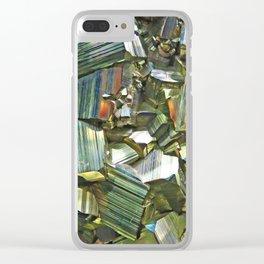 Pyrite Clear iPhone Case