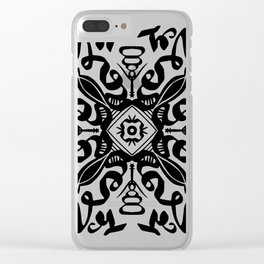 Monotile Clear iPhone Case