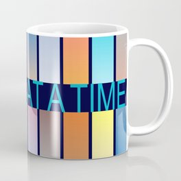 One Day At A Time AA Sober Sunrise Sunset Tee Tees T-Shirt NA Pattern Coffee Mug