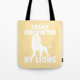 Lion Wild Sweet Funny Carnivore Tote Bag