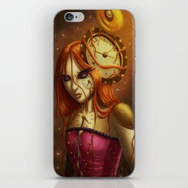 """Time After Time..."" iPhone Skin"