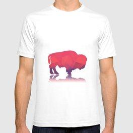 Geometric buffalo T-shirt