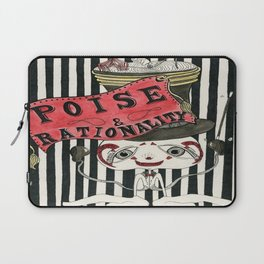 Poise & Rationality Laptop Sleeve