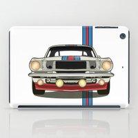 martini iPad Cases featuring Martini Mustang by Marius Dumitrascu