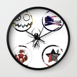 Killjoys Logo Wall Clock