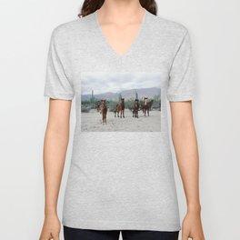 Bahía de los Ángeles Wild Horses Unisex V-Neck