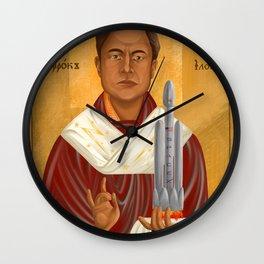 Holy Prophet Elon Musk Wall Clock