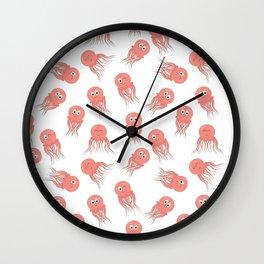 Jellyfish Neck Gator Funny Jelyfish Wall Clock