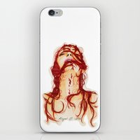 blood iPhone & iPod Skins featuring Blood by Raquel C. Hita - Sednae