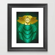 Green Iron Ranger Framed Art Print