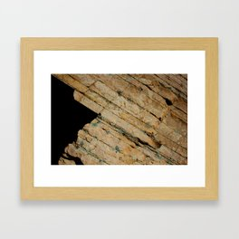 Layers and Space Framed Art Print