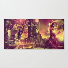 Cityshift Canvas Print