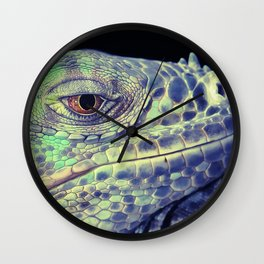 lizart dragon head Wall Clock