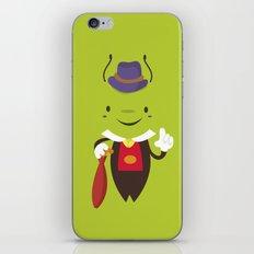 Pepe grillo iPhone & iPod Skin