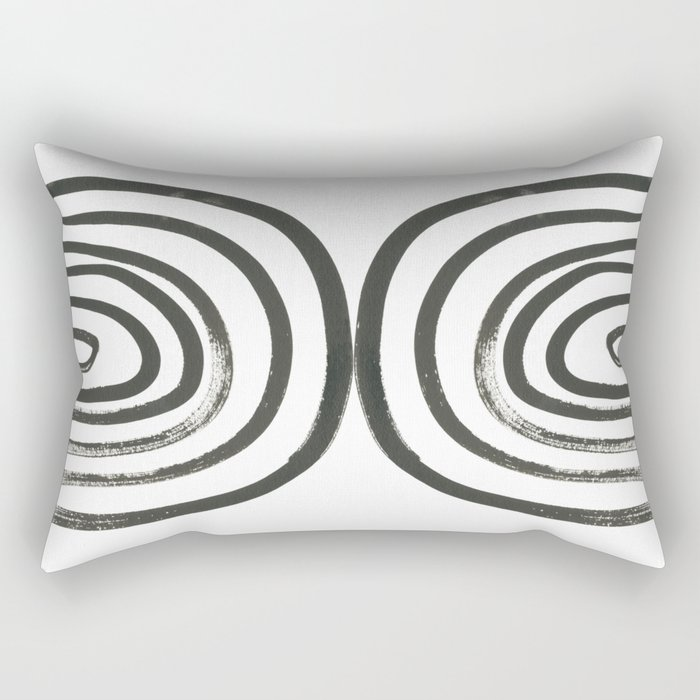 Round About Rectangular Pillow
