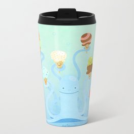 Ice Cream Power Metal Travel Mug