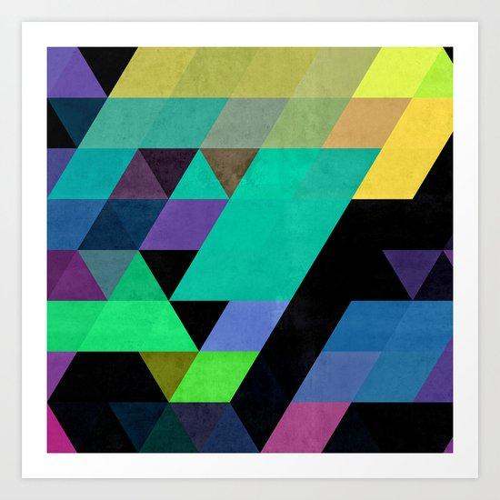 Qy^dyne Art Print