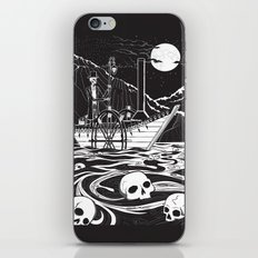 Steamboat across the Styx iPhone Skin