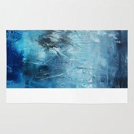 Ocean Blue Art Print  Rug