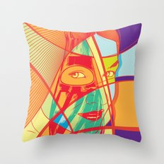 Soda Pop Sensual Art Throw Pillow
