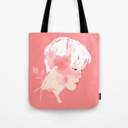 Rose :: Grace Tote Bag