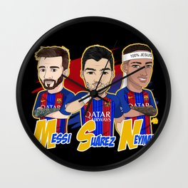 El tridente Wall Clock