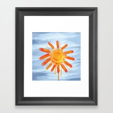 Sunshine Painting Framed Art Print