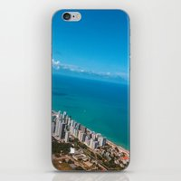 brazil iPhone & iPod Skins featuring Brazil Beach by Mauricio Santana