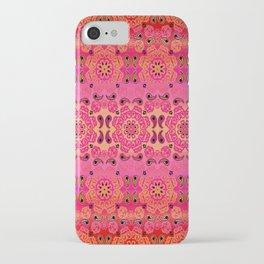 Pink Haze Bandana Ombre' Stripe iPhone Case