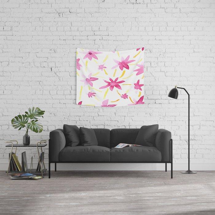 Magenta Love Wall Tapestry