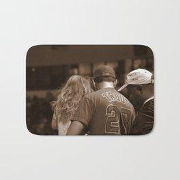 Fans at a Baseball Game Bath Mat