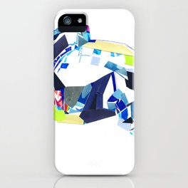 Glass Geometry Multi-Colour Two iPhone Case