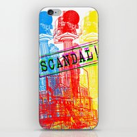 scandal iPhone & iPod Skins featuring Scandal Scandal Scandal by Genco Demirer