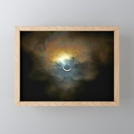 Solar Eclipse II Framed Mini Art Print