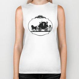 HORSE AND CARRIAGE Pop Art Biker Tank