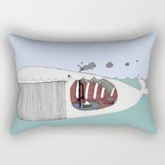 I valfiskens mage Rectangular Pillow