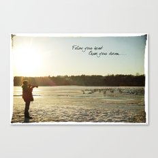 Chase Your Dream... Canvas Print