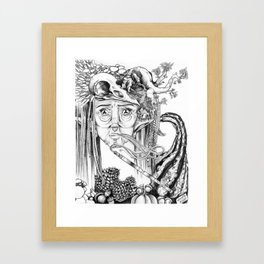 The Mother Framed Art Print