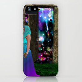 Keeper of the universe iPhone Case