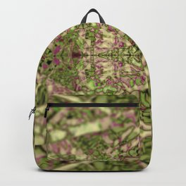 Fractal texture pattern geometric background nature plant painting Backpack