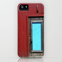 Amish Restaurant Barn Door iPhone Case