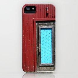 Amish Restaurant Barn Door iPhone Case