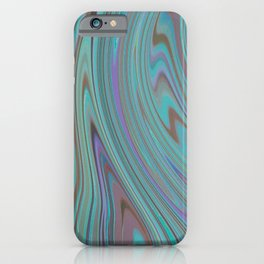 TURQUOISE FANCY iPhone Case